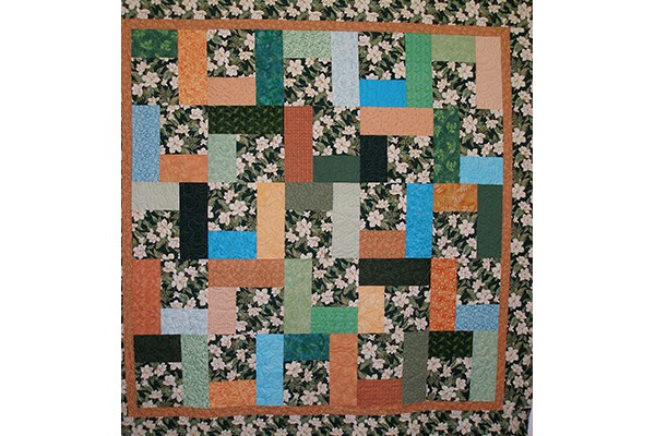 J O'Connor bed quilt b