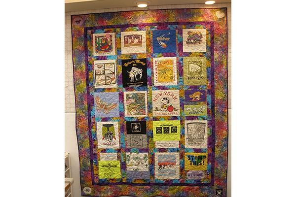 Rita R. granddaughter's quilt b