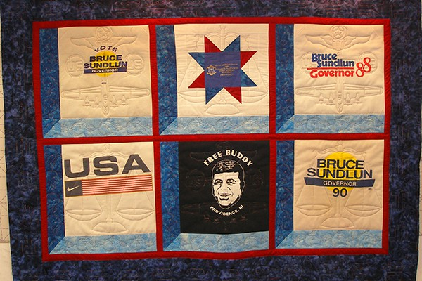 T-shirt quilt for Tracy Sundlun b
